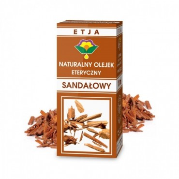Naturalny olejek sandałowy Etja