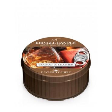 Daylight świeczka Cognac & Leather Kringle Candle