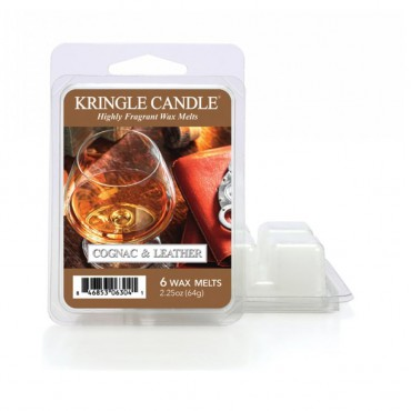 Wosk zapachowy Cognac & Leather Kringle Candle