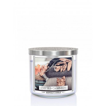 Tumbler Knitted Cashmere Kringle Candle