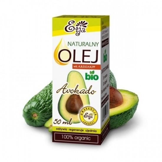 Naturalny olej awokado BIO Etja