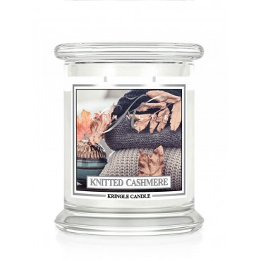 Średnia świeca Knitted Cashmere Kringle Candle