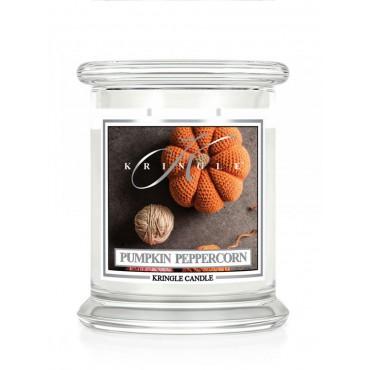 Średnia świeca Pumpkin Peppercorn Kringle Candle