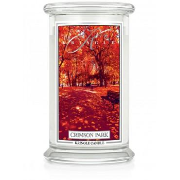 Duża świeca Crimson Park Kringle Candle