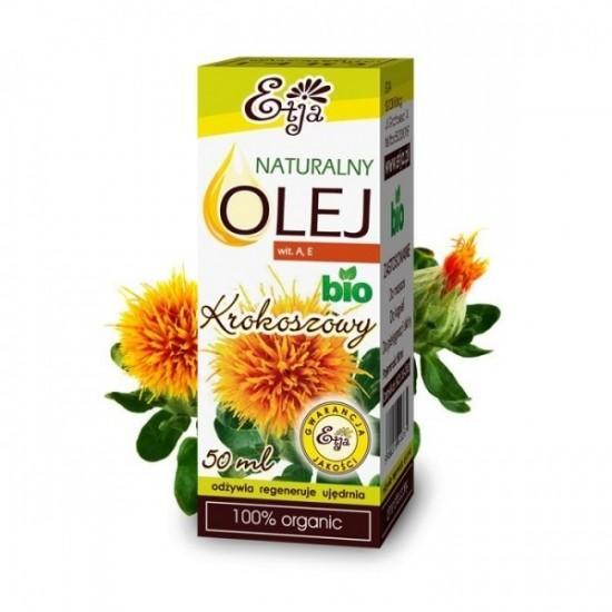 Naturalny olej krokoszowy BIO Etja