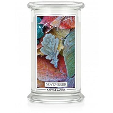 Duża świeca Novembrrr Kringle Candle