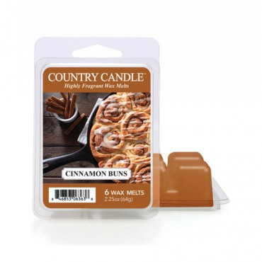 Wosk zapachowy Cinnamon Buns Country Candle