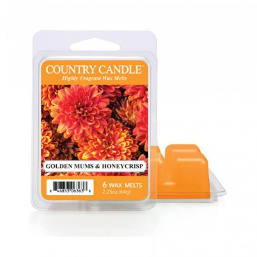 Wosk zapachowy Golden Mums & Honeycrisp Country Candle