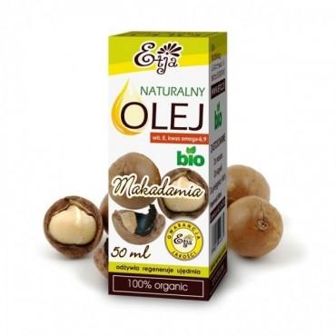 Naturalny olej makadamia BIO Etja