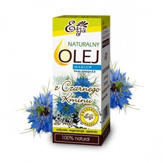 Naturalny olej z czarnego kminu Etja