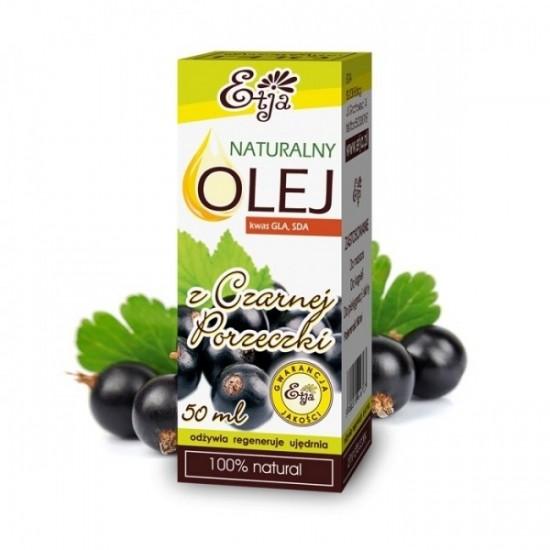 Naturalny olej z czarnej porzeczki Etja