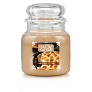 Średnia świeca Sweet Potato Pie Country Candle