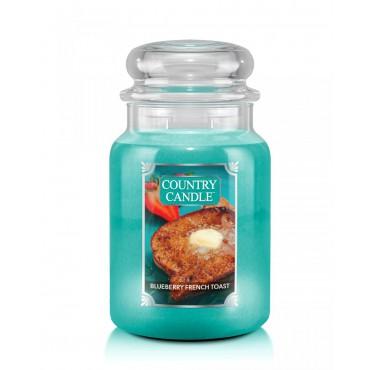 Duża świeca Blueberry French Toast Country Candle