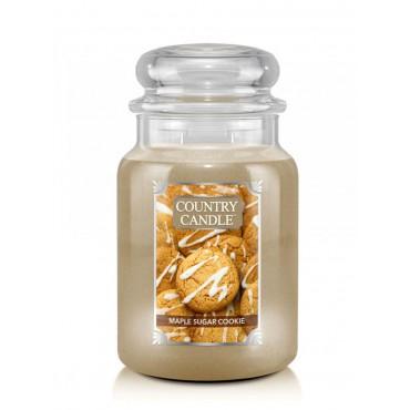 Duża świeca Maple Sugar Cookie Country Candle