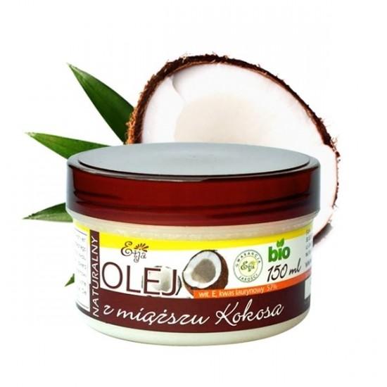 Naturalny olej z miąższu kokosa BIO Etja