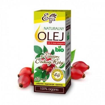 Naturalny olej z nasion dzikiej róży BIO Etja