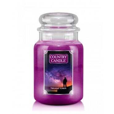 Duża świeca Twilight Tonka Country Candle