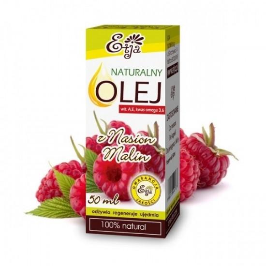 Naturalny olej z nasion malin Etja
