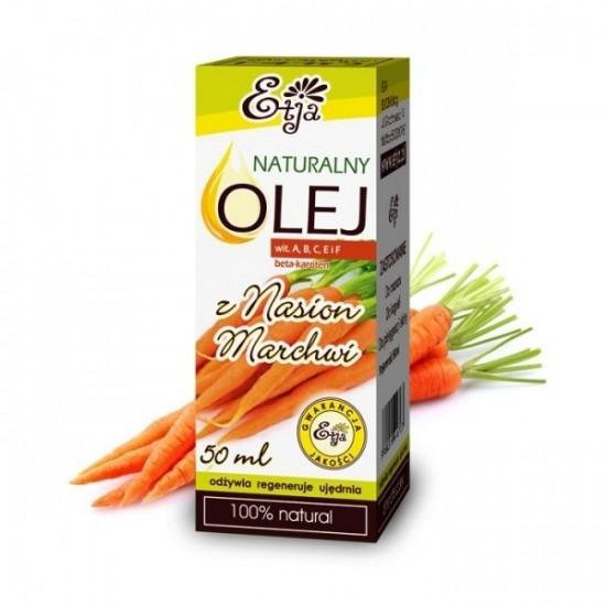 Naturalny olej z nasion marchwi Etja