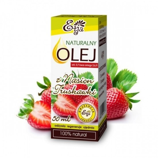 Naturalny olej z nasion truskawki Etja