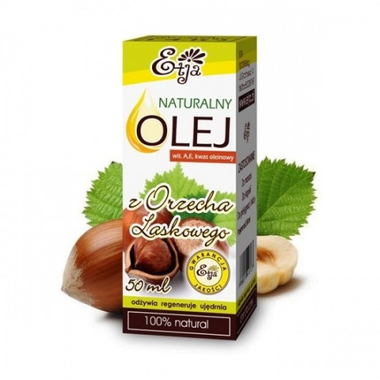 Naturalny olej z orzecha laskowego Etja