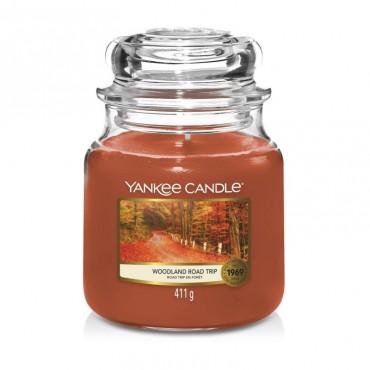 Średnia świeca Woodland Road Trip Yankee Candle