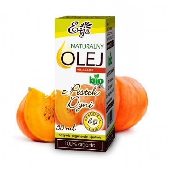 Naturalny olej z pestek dyni BIO Etja