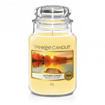 Duża świeca Autumn Sunset Yankee Candle