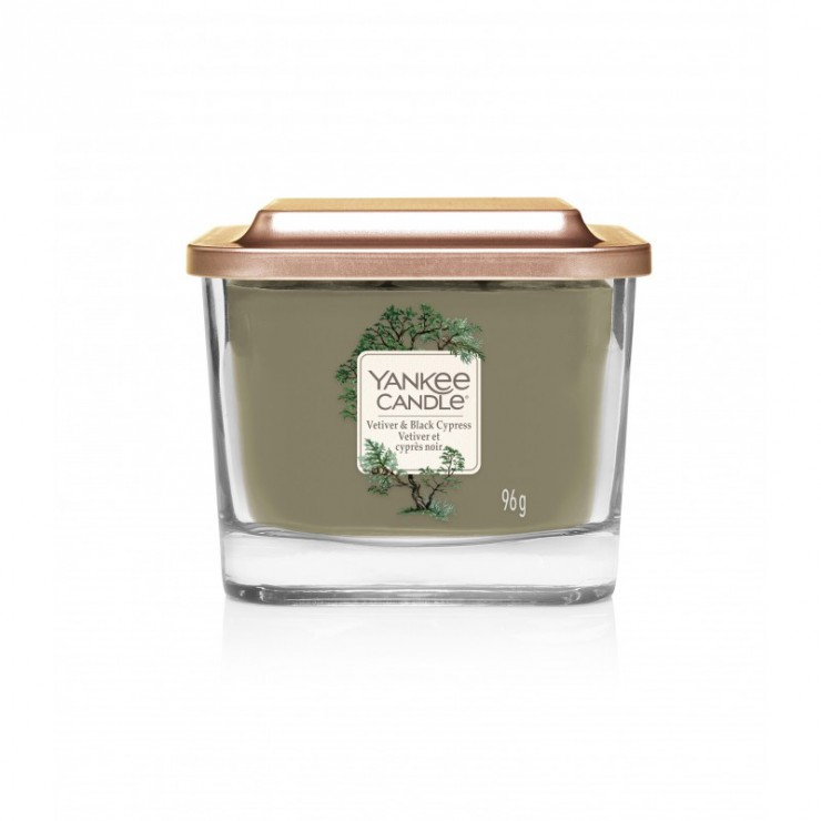 Elevation mała świeca Vetiver & Black Cypress Yankee Candle
