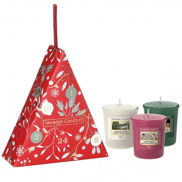 Countdown To Christmas zestaw 3 samplerów Yankee Candle