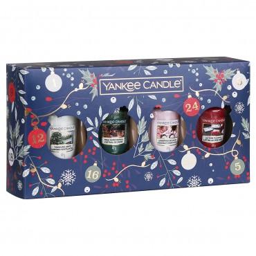 Countdown To Christmas zestaw 4 samplerów Yankee Candle