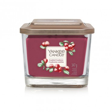 Elevation średnia Candied Cranberry Yankee Candle