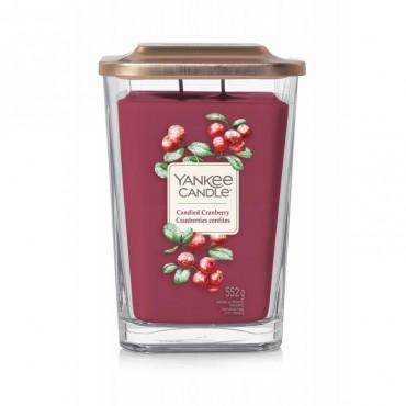 Elevation duża świeca Candied Cranberry Yankee Candle