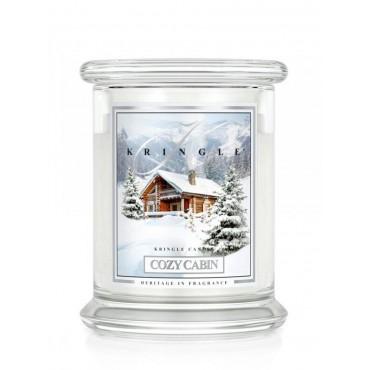 Średnia świeca Cozy Cabin Kringle Candle