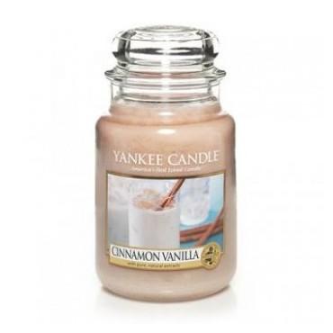Duża świeca Cinnamon Vanilla Yankee Candle