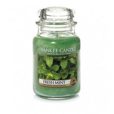 Duża świeca Fresh Mint Yankee Candle