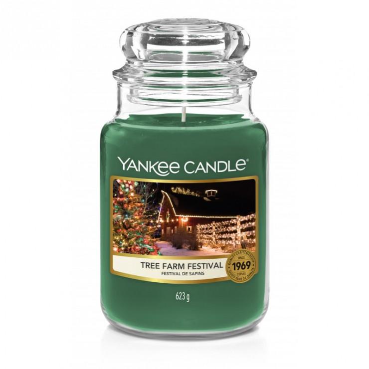 Duża świeca Tree Farm Festival Yankee Candle