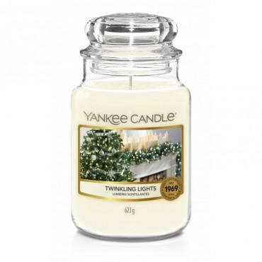 Duża świeca Twinkling Lights Yankee Candle