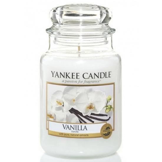 Duża świeca Vanilla Yankee Candle