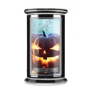 Duża świeca Graveyard Night Kringle Candle