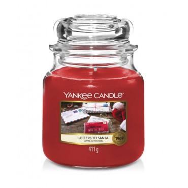 Średnia świeca Letters To Santa Yankee Candle