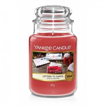 Duża świeca Letters To Santa Yankee Candle