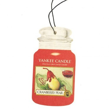 Car jar Cranberry Pear Yankee Candle