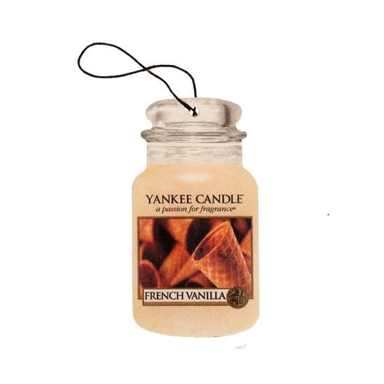 Car jar French Vanilla Yankee Candle
