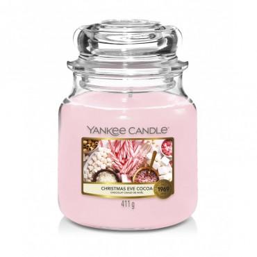 Średnia świeca Christmas Eve Cocoa Yankee Candle