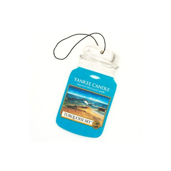 Car jar Turquoise Sky Yankee Candle