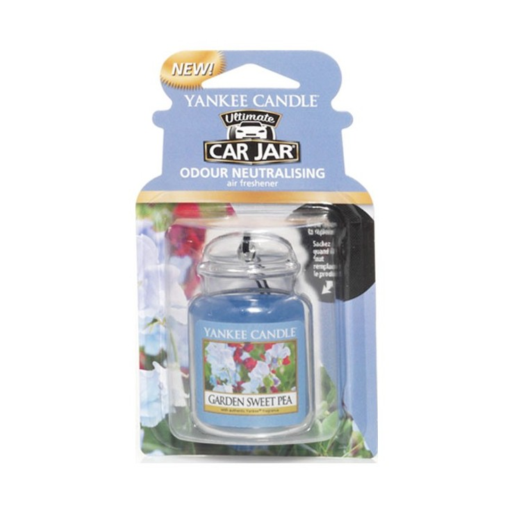 Car jar ultimate Garden Sweet Pea Yankee Candle