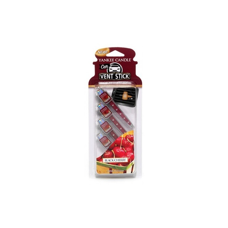 Car vent stick Black Cherry Yankee Candle