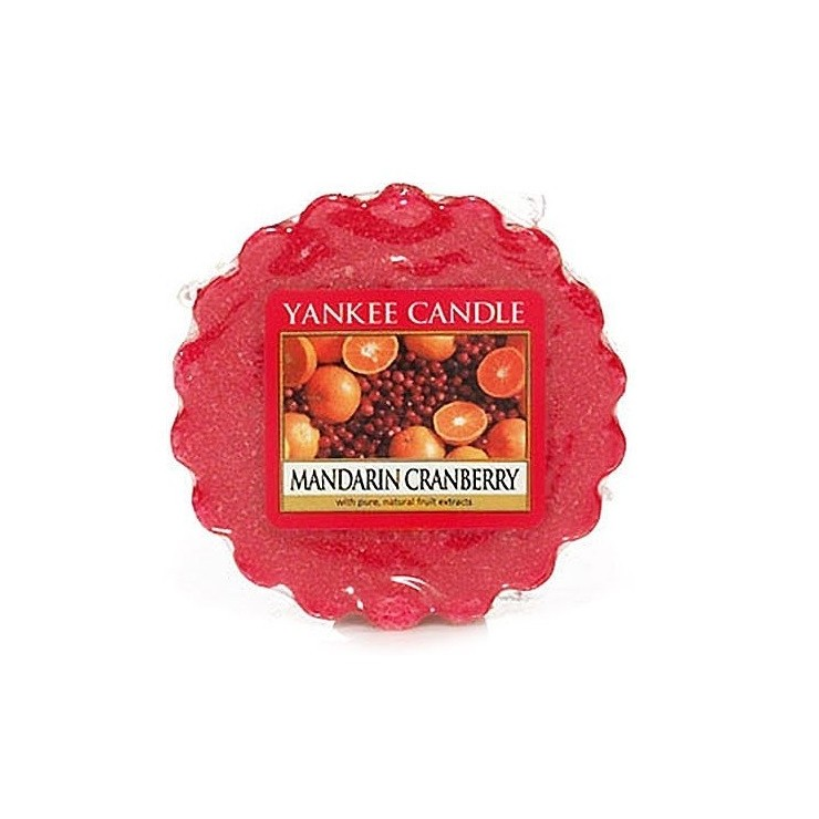 Wosk Mandarin Cranberry Yankee Candle