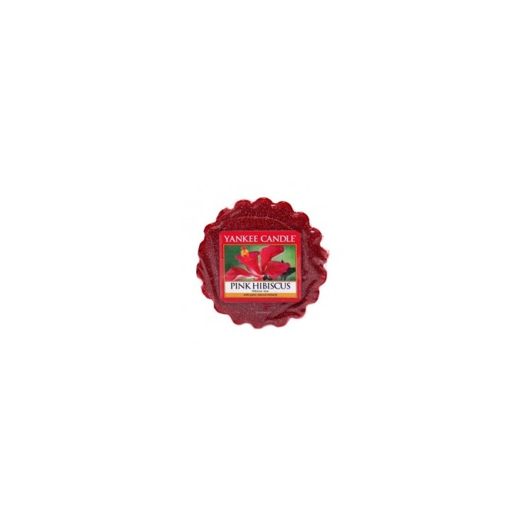Wosk Pink Hibiscus Yankee Candle